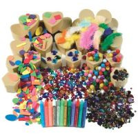 Chenille Kraft Papier Mache Boxes Activities Box