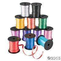 Curling Ribbon Assortment 12 Rolls of 3/16
