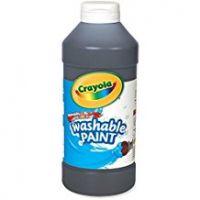 Crayola Washable Paint 16 oz. - Black