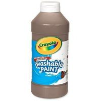 Crayola Washable Paint 16 oz. - Brown