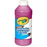 Crayola Washable Paint 16 oz. - Magenta