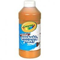 Crayola Washable Paint 16 oz. - Orange