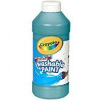 Crayola Washable Paint 16 oz. - Turquoise