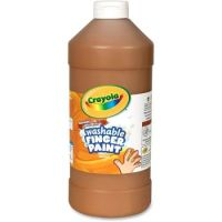 Crayola Washable Finger Paint 16 oz. Brown