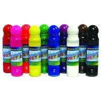 Crafty Dab Window Paints - 10/pk Model: CV-75556