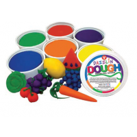 Hygloss Dazzlin Modeling Dough  Scented, 3-Pound Choose  A Color  Red, Green, Blue, Yellow, Purple, Orange
