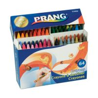 Prang Crayons Made with Soy, 64 Colors/Box
