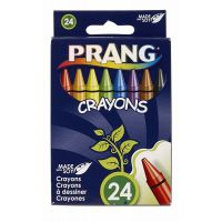 Prang Crayons Made with Soy, 24 Colors/Box