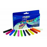Prang Pastello Art Chalk for Paper, 12 Colors per Box (10441)