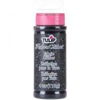 Tulip Dimensional Fabric Paint 4 oz Glitter Black