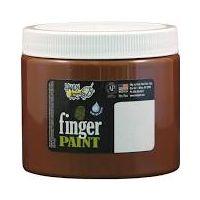 Handy Art Washable Finger Paint 16 oz. Brown - HAN241050