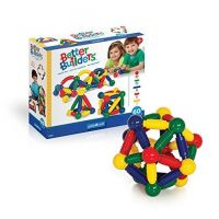 Guidecraft Better Builders, 60-Pieces First Magnetic Construction