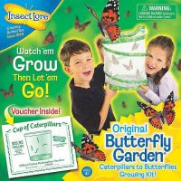 Insect Lore Butterfly Garden Caterpillar to Butterfly Growing Kit