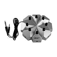 Classroom Jackbox - 8 Position, 3.5mm Stereo With Individual Volume Controls