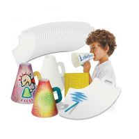 Roylco Color-In Spirit Megaphones , R22022