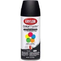 Krylon General Purpose Aerosol, 11-Ounce, Semi Flat Black Spray Paint