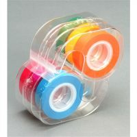 Removable Highlighter Tape , 1 Roll Each of 6 Fluorescent Colors - 6 Roll Pack,  LEE19188