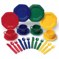 Learning Resources Pretend and Play Dishes, Cups And Saucers , LER0294