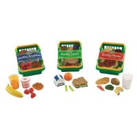 Learning Resources Pretend and Play Healthy Foods Play 3 Sets , LER5340