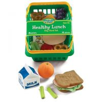 Learning Resources Pretend and Play Healthy Lunch Basket , LER7291