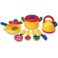 Learning Resources Pretend & Play Cooking Set , LER9155
