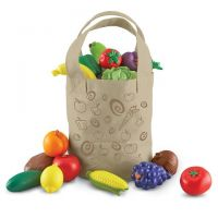 Learning Resources Fresh Picked Fruit And Veggie Tote , LER9722