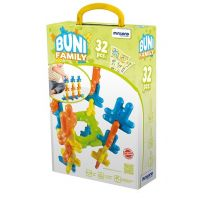 Miniland Buni Plastic Bunny Connectors 32-Pieces Set