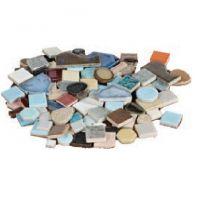 Assorted Shapes Ceramic Tiles - 1lb.