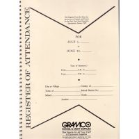 Approved New York State Attendance Register Book
