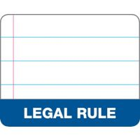 Legal Pads-Perforated Ruled 8.5