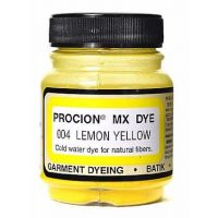 Deco Art Jacquard Procion Mx Dye, 2/3-Ounce, Lemon Yellow