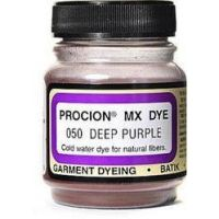 Deco Art Jacquard Procion Mx Dye, 2/3-Ounce, deep purple