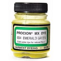 Deco Art Jacquard Procion Mx Dye, 2/3-Ounce, Emerald Green