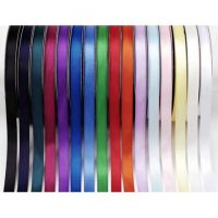 1/4 inch Double Faced Satin Poly Ribbon - Purple - 30 yards