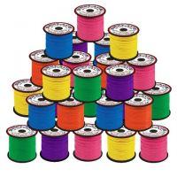 Plastic Lacing Value Pack - Neon Colors 50/case