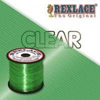 Pepperell Rexlace Plastic Craft 100 Yard Spool, 3/32-Inch Wide, Clear Green