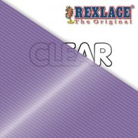 Pepperell Rexlace Plastic Craft 100 Yard Spool, 3/32-Inch Wide, Clear Purple