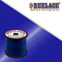 Pepperell Rexlace Plastic Craft 100 Yard Spool, 3/32-Inch Wide, Dark Blue