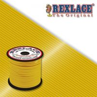 Pepperell Rexlace Plastic Craft 100 Yard Spool, 3/32-Inch Wide, Yellow