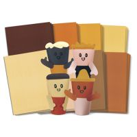 Skin Tone Craft Papers, Roylco, R15233