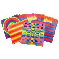 Roylco Rainbow Weaving Mats (R-16004)