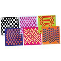 Roylco Op Art Weaving Mats (R16018)