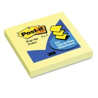 Post-it Pop-up Jaipur Notes Refill Yellow