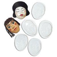Roylco Face Forms - 10 -pkg  R52009