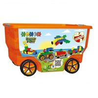 Clics Toys Rollerbox, 400 Pieces