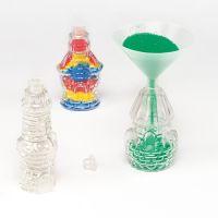 Mini Castle Sand Art Bottles 12 Pack