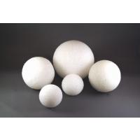 Gramco Styrofoam Balls Craft Supplies, 1-Inch, White, 12-Pack