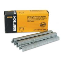 Bostitch B8 PowerCrown Premium Staples, 0.25 Inch Leg, Full-Strip (STCR21151/4)