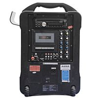 Classroom Wireless PA System - CD, Cassette, MP3, Rechargeable