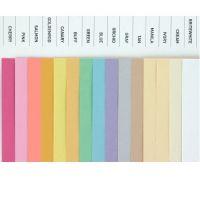 """Color Paper, 8.5"""" x 11"""", 20 lb / 75 gsm, Buff , 500 Sheets"""